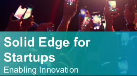 Siemens with a new Free Solid Edge CAD and CAM for Startups Program