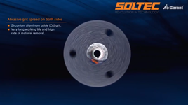 Soltec: GARANT double-sided abrasive disc